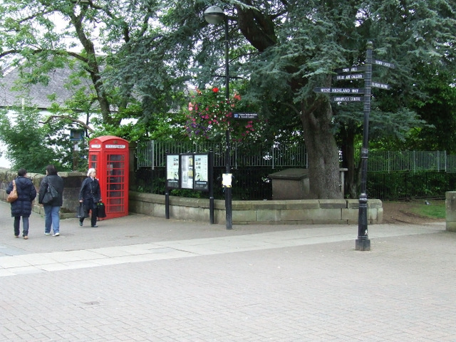 Milngavie town centre