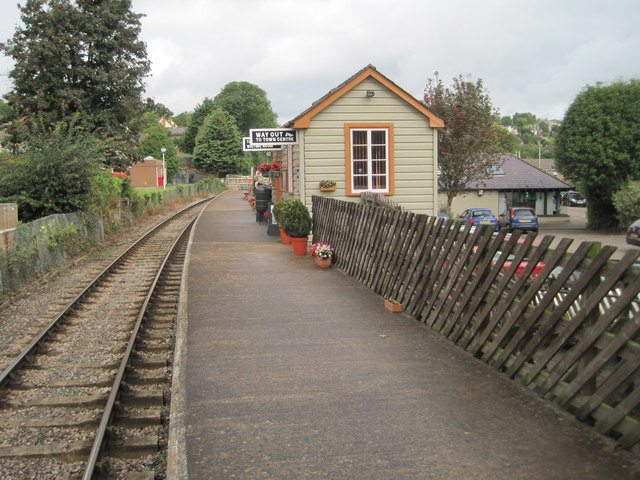 Lydney Town railway station, Gloucestershire