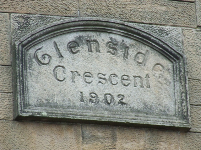 Date stone on Mugdock Road