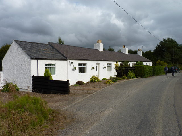 Cottages on a corner