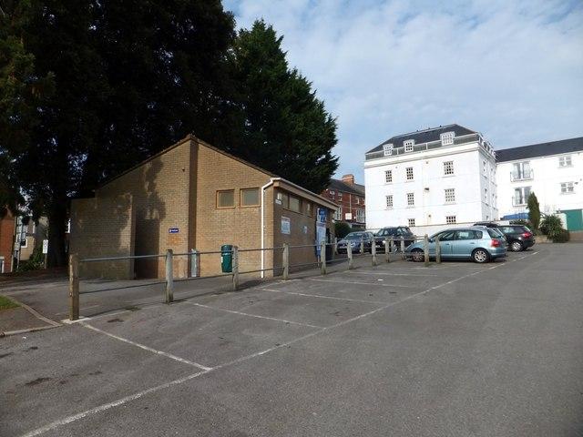 Car park and public toilets, Axminster