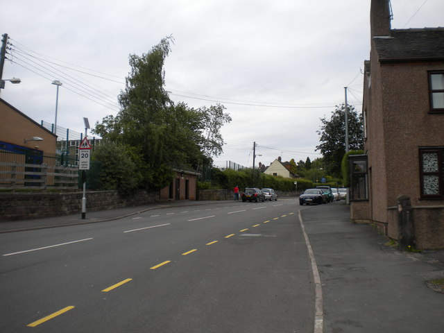 Cheadle Road, Blythe Bridge