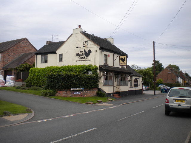 The Black Cock, Blythe Bridge