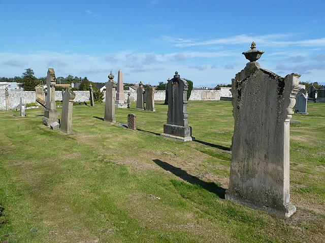 Kinneddar Cemetery, Lossiemouth