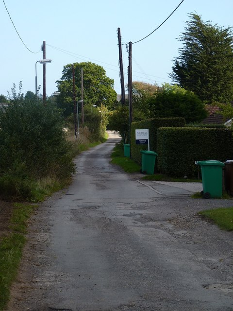 Side road in The Gauldry