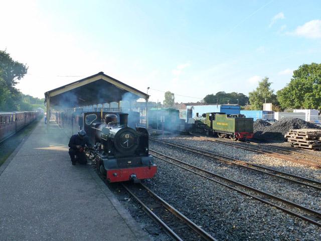 Aylsham station, Bure Valley Railway