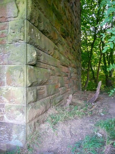 Elland Footpath 38 under the Rawroyd Viaduct