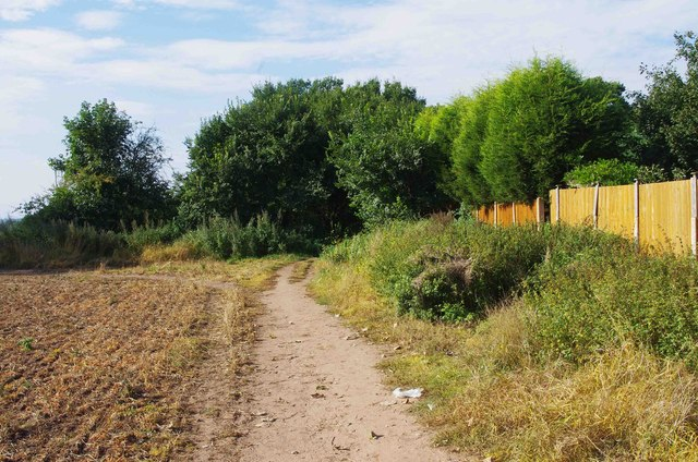 Public bridleway near Spennells, Kidderminster