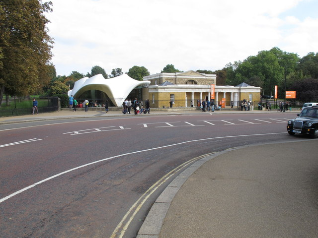 Serpentine Sackler Gallery designed by Zaha Hadid