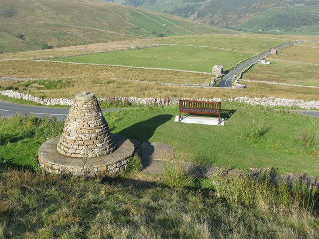 The Millennium Cairn near Muker