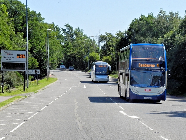 Stagecoach Cambridge Citi Bus on Madingley Road