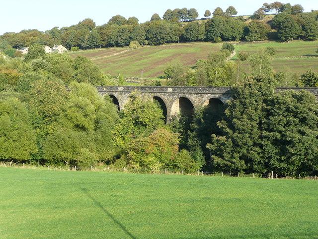 Rawroyd Viaduct from Burrwood Way