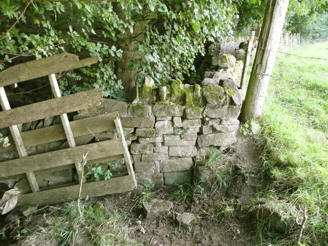 Stile on Elland Footpath 38
