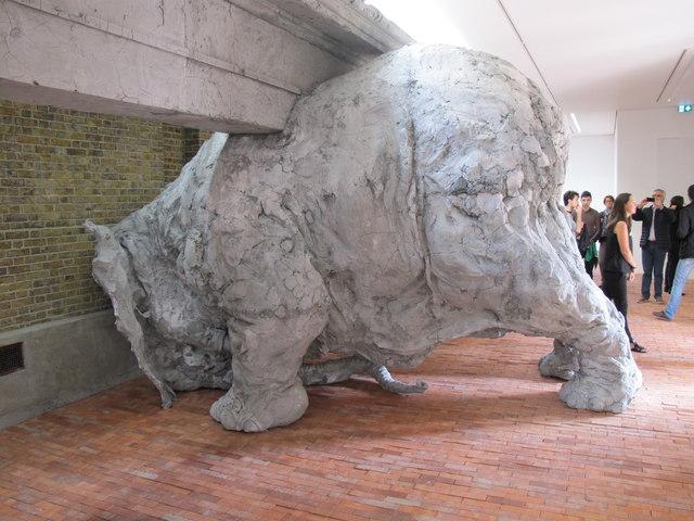 Sculpture by Adrián Villar Rojas, Serpentine Sackler Gallery