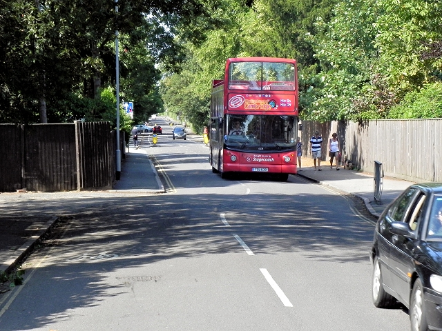 Cambridge Sightseeing Bus on Grange Road