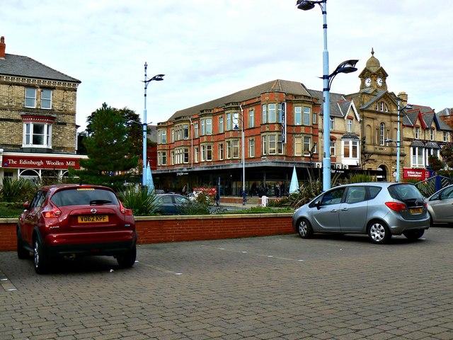 Car park, St Anne's Road West, St Anne's