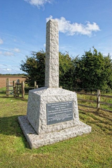 Memorial to the Pilgrim Fathers, Boston