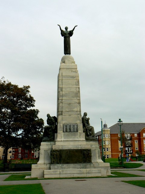 War Memorial, Ashton Gardens, St Anne's