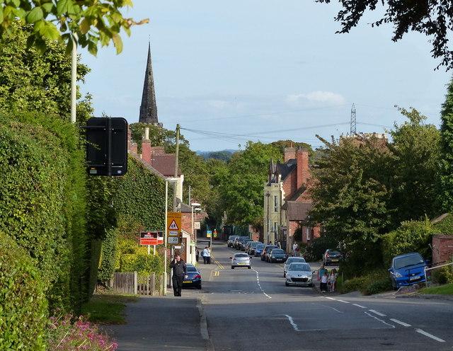 Ashby Road in Kegworth