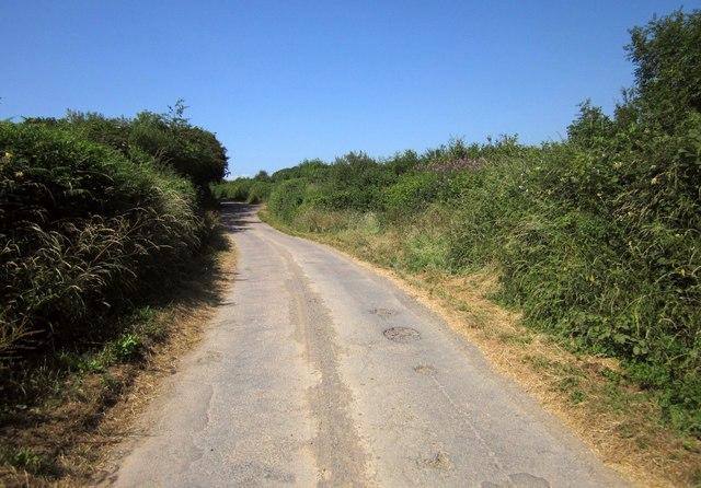 Lane to Mouseberry Cross