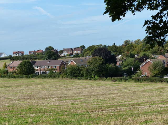 Houses on the edge of Kegworth