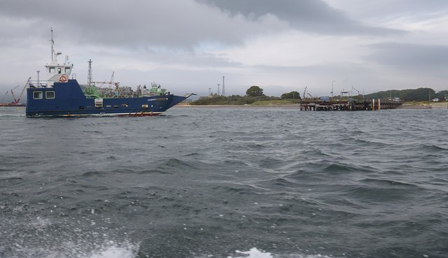 Cromarty Queen heading to Nigg
