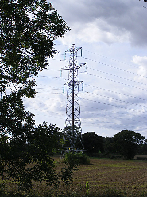Electricity Pylon off the B1332 Bungay Road