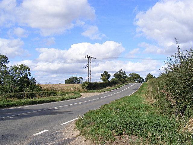 B1332 Bungay Road, Bixley