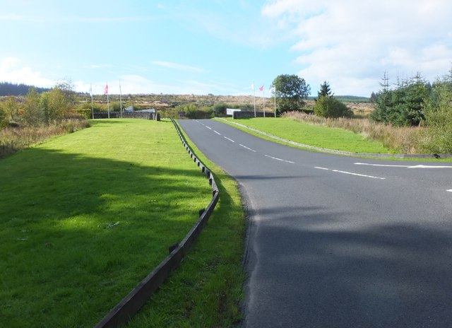 Main driveway, Leaplish