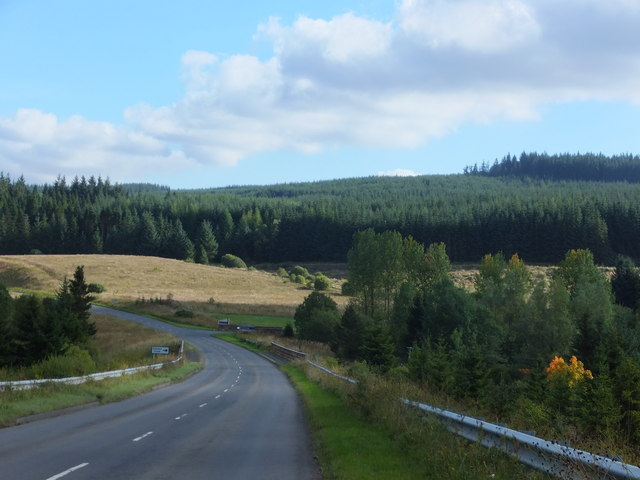 Down the hill to the Cranecleugh Burn