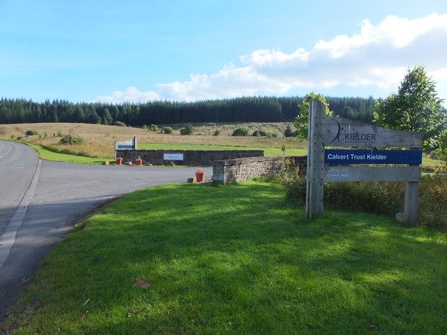 Entrance to the Calvert Trust