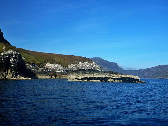 Loch Bhrolluim coastline