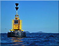 NG3584 : Eugenie Rock buoy by Toby Speight