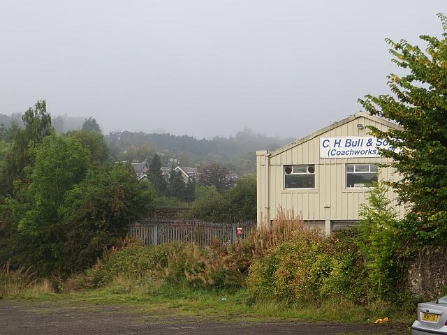 Industrial land, Bridge of Weir