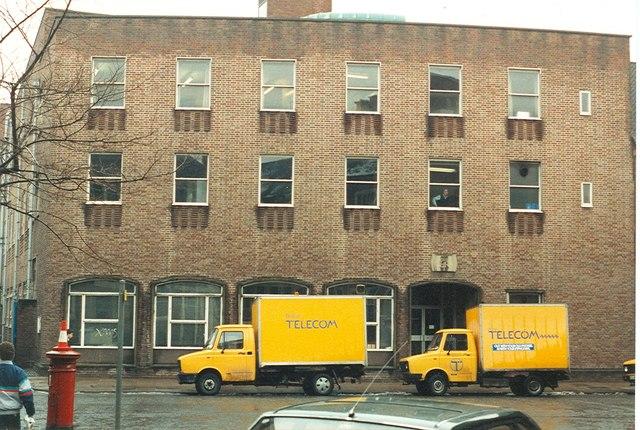 Stafford Castlegate Telephone Exchange
