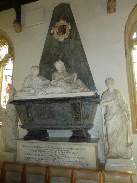 St Mary, Beaminster: memorial (III)