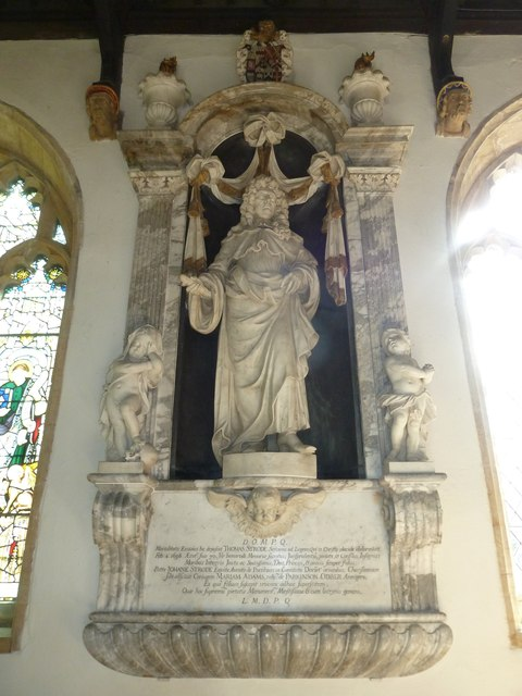 St Mary, Beaminster: memorial (VIII)