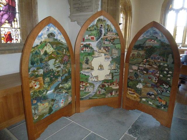 Inside St Mary, Beaminster (1)