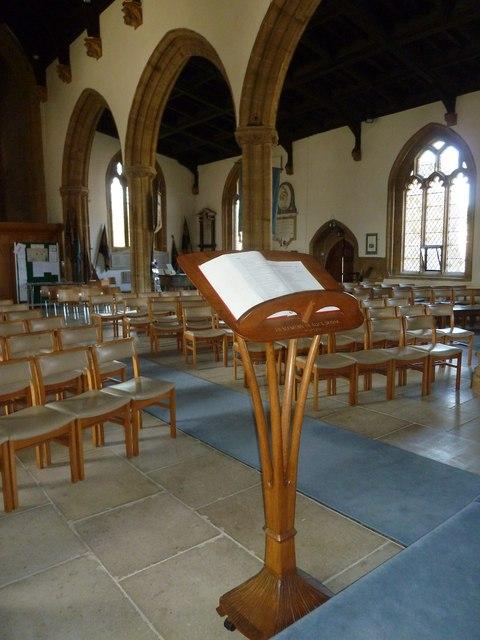 Inside St Mary, Beaminster (4)