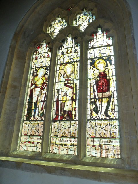 St Mary, Beaminster: stained glass window (a)