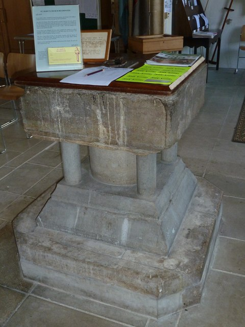 St Mary, Beaminster: font