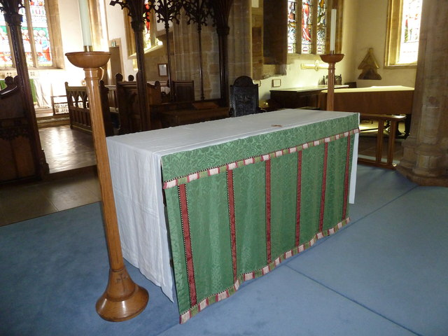 St Mary, Beaminster: The Lord's Table