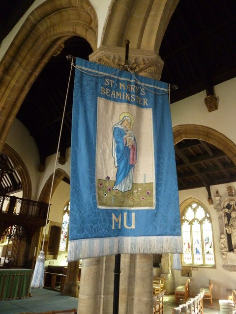 St Mary, Beaminster: banner (a)