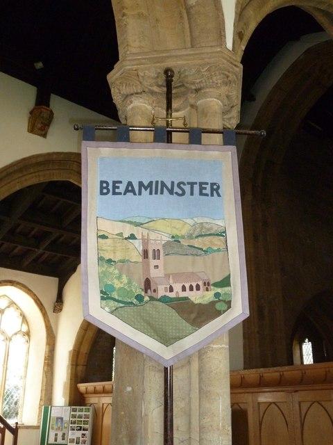 St Mary, Beaminster: banner (b)