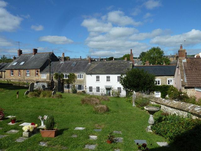St Mary, Beaminster: churchyard (A)