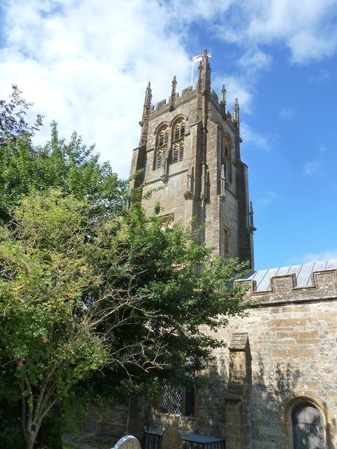 St Mary, Beaminster: tower