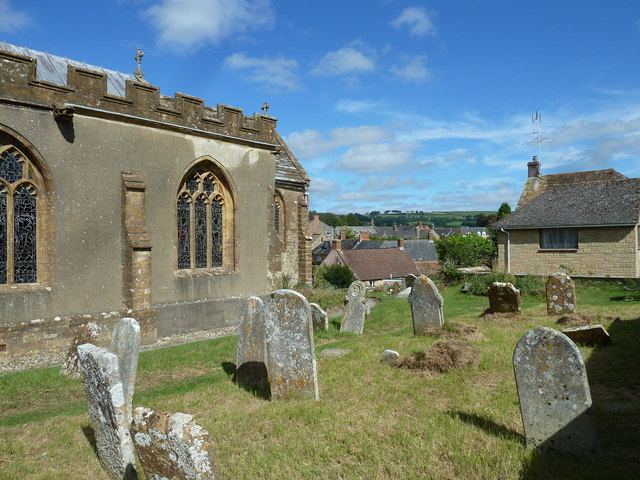 St Mary, Beaminster: churchyard (C)