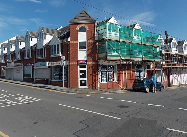 Corner of West Street and Lime Street, Gorseinon