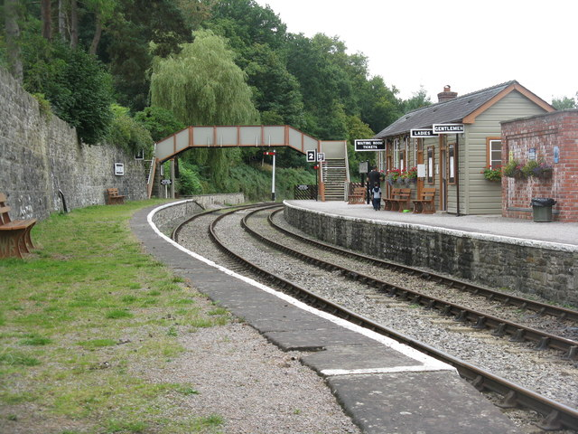 Dean Forest Railway, Parkend Station