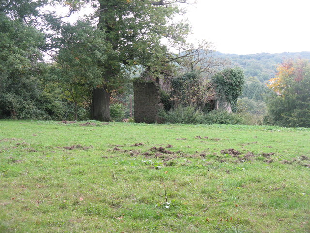 Ruin at Parkend